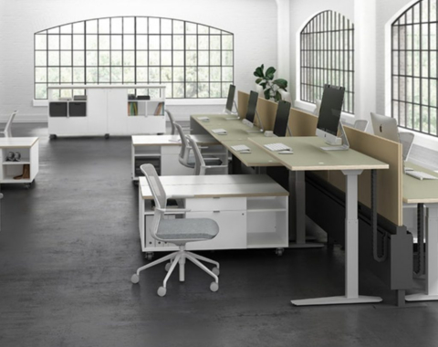 Modular Office Furniture Installation and Reconfiguration